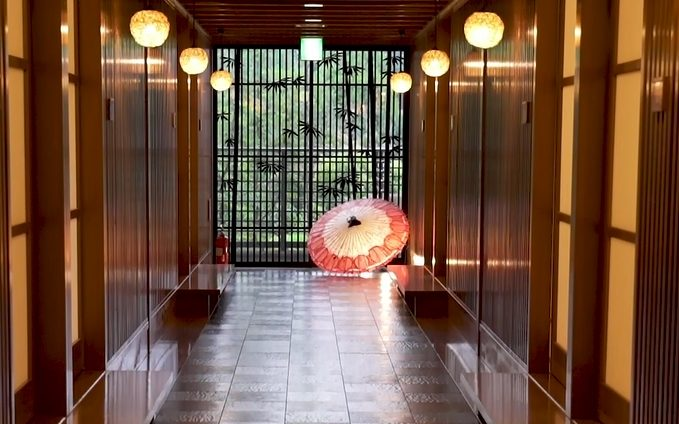 高级日式温泉旅馆