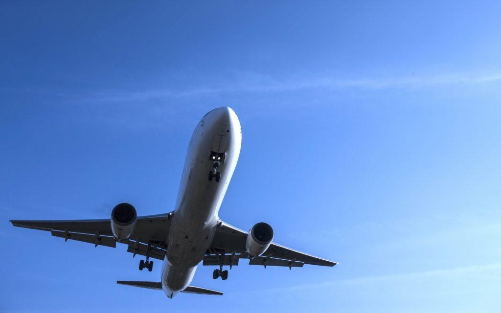 乘飞机来日本